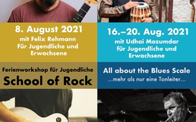 Ferienprogramm im Sommer vom 8.8.–10.9.2021