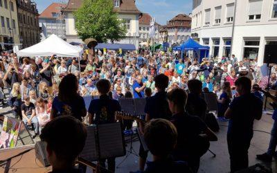Semesterabschluss – Konzert auf dem Radmarkt am 25. April 2021