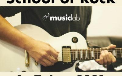 Ferienworkshops im Januar 2021 – School of Rock